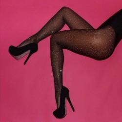 Hlačne nogavice Crystal Black